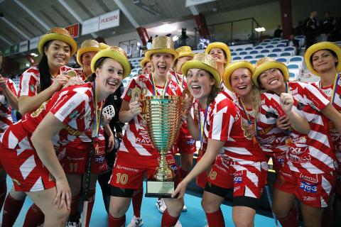 Historiskt Champions Cup-guld för Pixbo Wallenstam