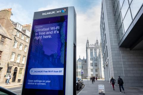 Aberdeen to benefit from free ultrafast wi-fi and phone calls