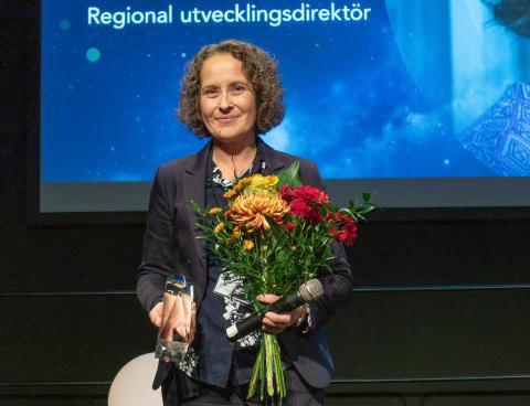 Anna Petterson, Regional utvecklingsdirektör på Region Västerbotten