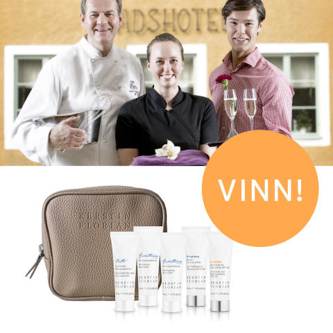 Vinn lyxiga Kerstin Florian-produkter & spaupplevelse för två på Trosa Stadshotell & Spa!