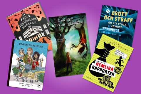 Böckerna som tävlar i Barnradions bokpris
