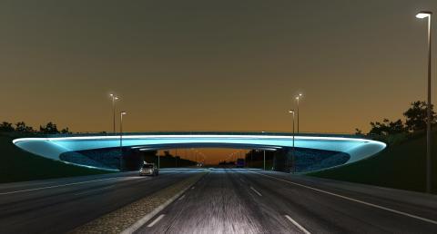 En elipsformad portal blir ny entré till Landvetter Airport