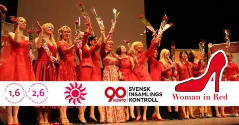 Woman in Red Stockholm 2018 1,6 miljonerklubben bjuder in till kampanj för kvinnohjärtat