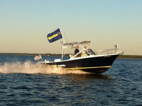 Image - VETUS Maxwell - VETUS Maxwell's Topaz Demo Boat featuring BOW PRO thrusters will be available for sea trials at Miami Boat Show