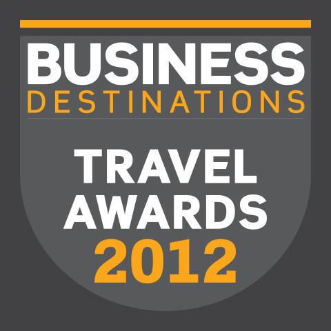 """Voksenåsen er stolt vinner av prisen """"The Business Destination Travel Awards 2012"""""""