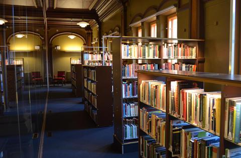 Världslitteratur i Schillerskas bibliotek!