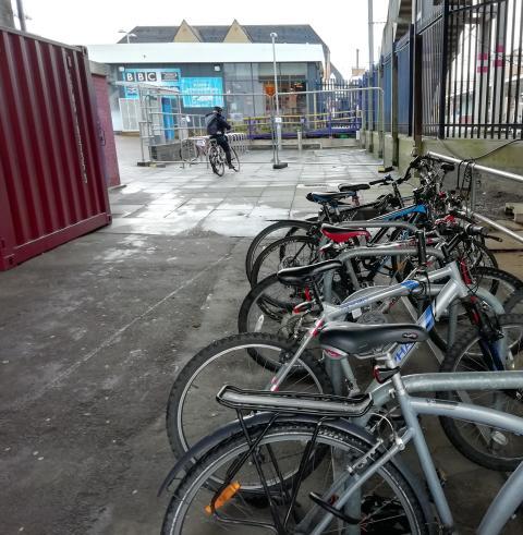 Elstree and Borehamwood cycle racks