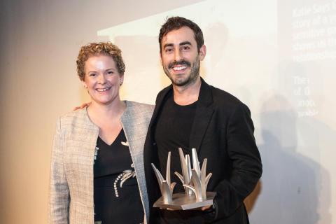 Stockholm Impact Award goes to Wayne Roberts
