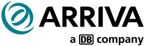 Arriva uppdaterar logotyp