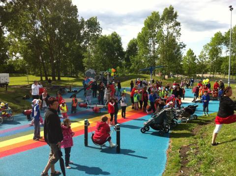 Sävja stadsdelspark invigd!