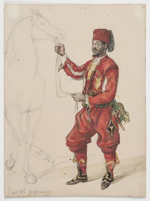 Nyförvärv: Fritz von Dardels porträtt av John Panzio Tockson