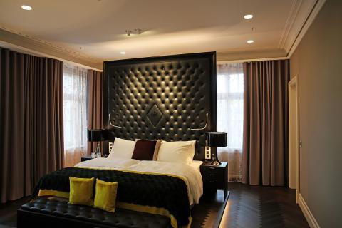 Schlafzimmer der Suite Sofia Brockhaus