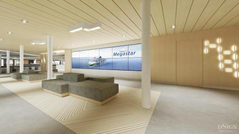 Tallink Silja Megastar | Eingangsbereich 2