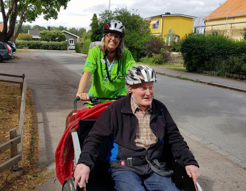 Förenade Care Tunåsen cykeltur