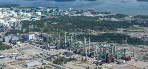 Neste, Veolia och Borealis planerar nytt kraftvärmeverk i Porvoo, Finland