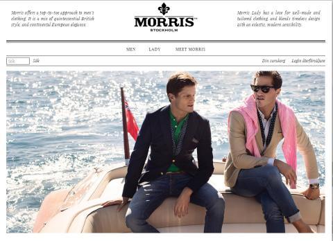 Morris startar e-handel