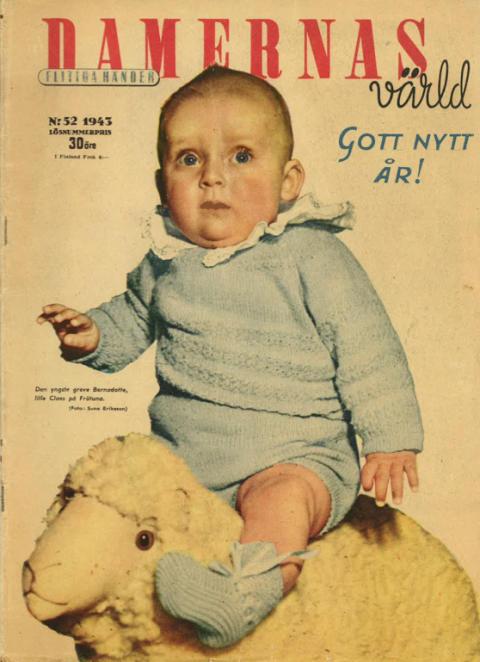 Damernas Värld nr 52, 1943 - omslag
