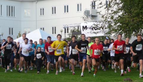 Starten i Mjärdevistafetten 2011