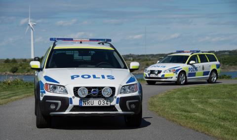 Volvo XC70 D5 AWD är den ultimata polisbilen