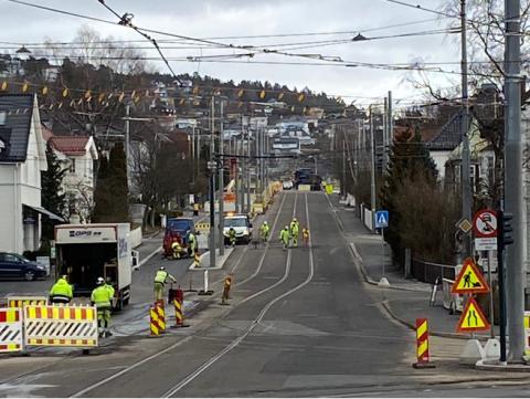 Prosjekt Grefsenveien mellom Storo og Disen