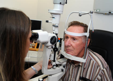 Eye test referral saves Ashbourne grandfather's sight and driving license