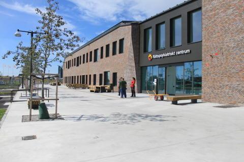 Rättspsykiatriskt Centrum i Trelleborg nominerat till Årets Bygge