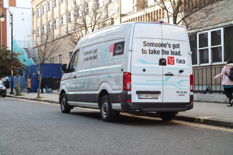 Falck going electric in London