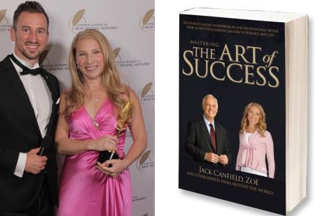 "Hollywood prisar svenska Zoë- ""Mastering the Art of Success"" bestseller!"