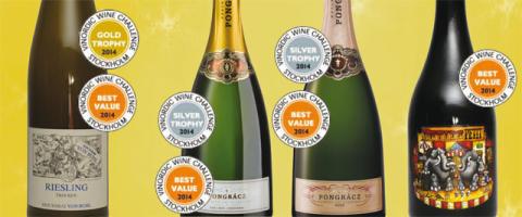 Vinnare i Vinordic Wine Challenge