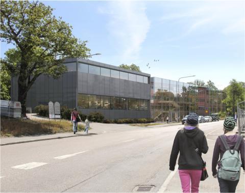 JENSEN startar ny grundskola i Sickla, Nacka kommun