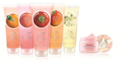 The Body Shop lanserar sorbeter för ansikte och kropp