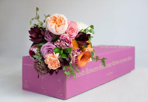 Smurfit Kappas e-handelsexpertis leder till imponerande försäljningstillväxt för blomleverantör