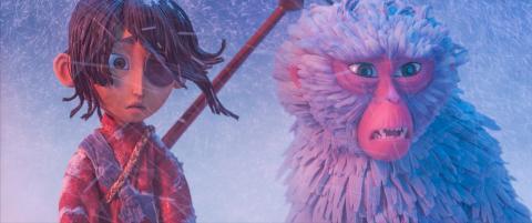 Kubo - Den modige samurai. Animationsfantasy.