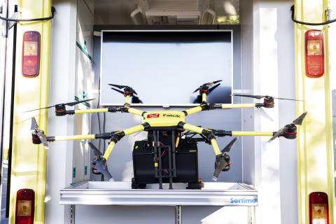 Drones will be part of future healthcare