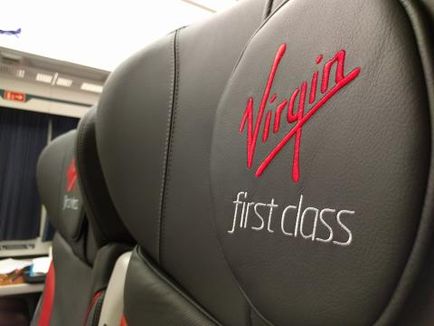 Another new-look train takes to the Virgin tracks
