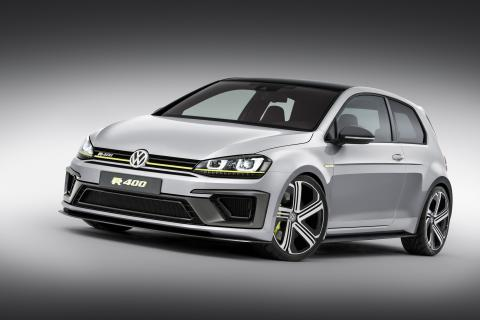The hot hot hot hatch: VW Golf R 400 concept roars into Beijing