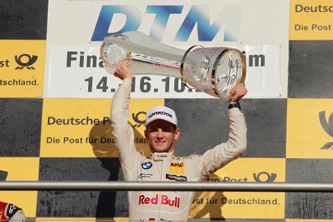 BMW kører Marco Wittmann vinder DTM 2016