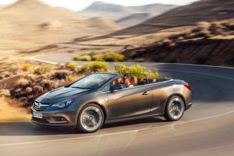 Nya Opel Cascada: Atletisk och glamorös cabriolet i mellanklassen