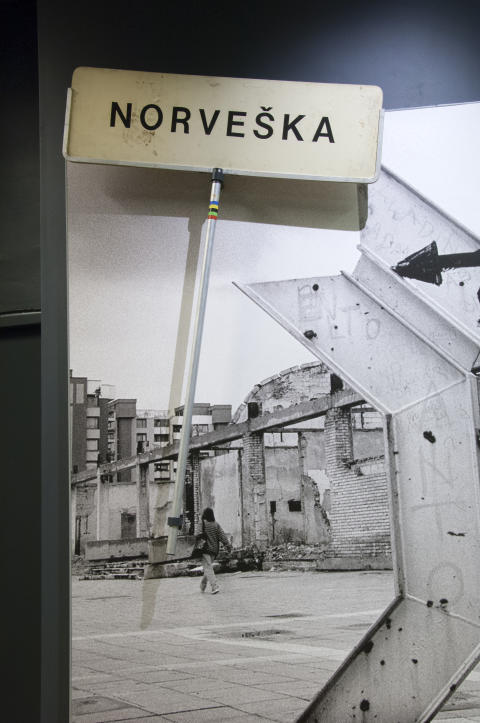 Historien bak Sarajevo-skiltet