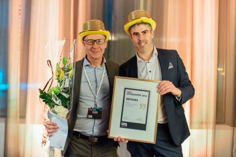 Happy Homes har utsett Årets leverantör 2016!