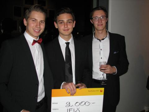Sparbanken 1826 – Årets HessleCityföretag 2012