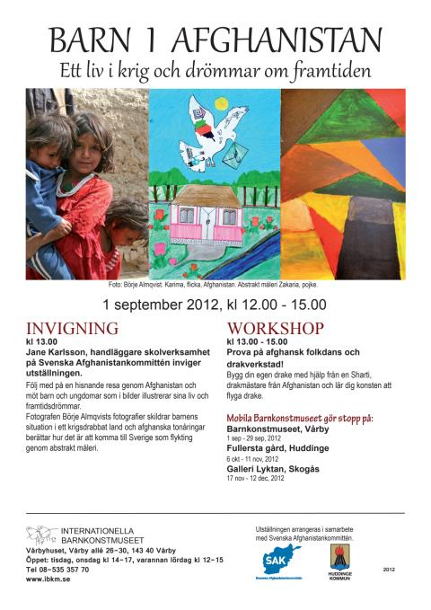 Vernissage Internationella barnkonstmuseet