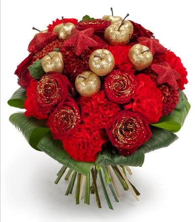 Blommor trotsar vikande julhandel