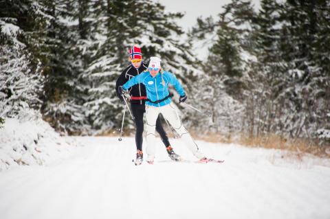 SkiStar Trysil: Tester skiføret i Trysil