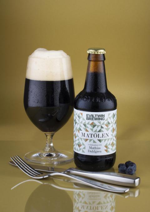 Mathias Dahlgren brygger öl med Evil Twin