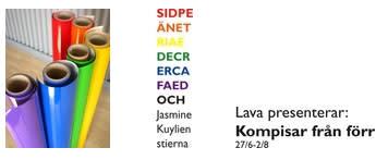 Nya vinyldekorer på Kulturhuset, Lava