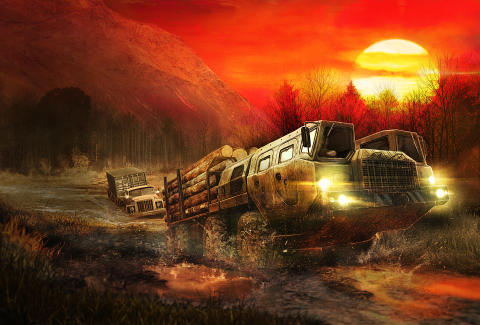 Spintires: MudRunner announces a new free DLC: The Ridge!