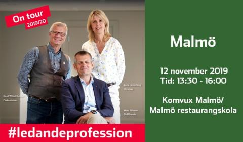 """Pressinbjudan """"En fika med professionen"""" i Malmö"""