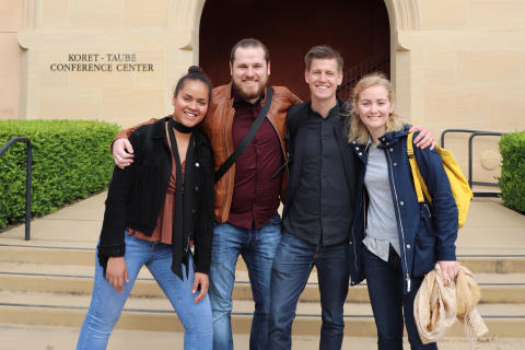 Ung techentreprenör bygger nätverk i Silicon Valley