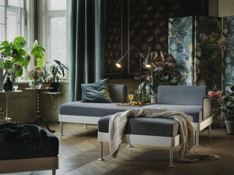 IKEA collaborate with Tom Dixon to create DELAKTIG - a new modular seating range for fluid living